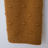 Bobble Knit Scarf Caramel