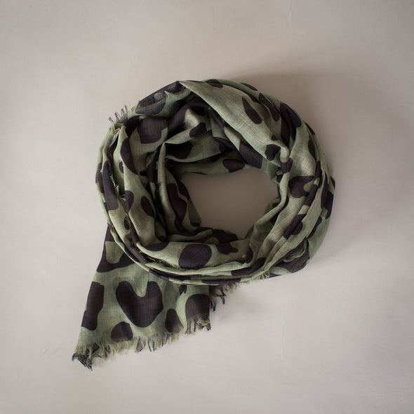 Wild Maxi Scarf Olive