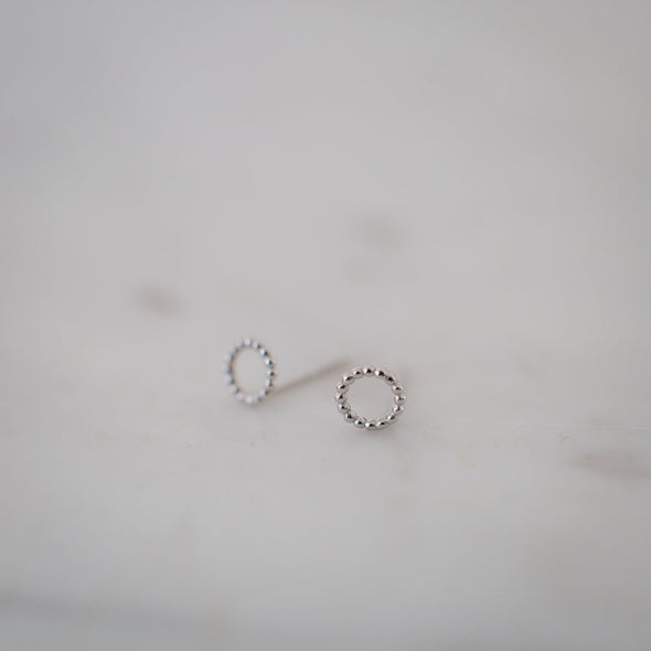 Dotty Oh Studs Silver