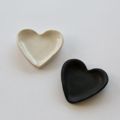 Heart Ceramic Jewellery Dish