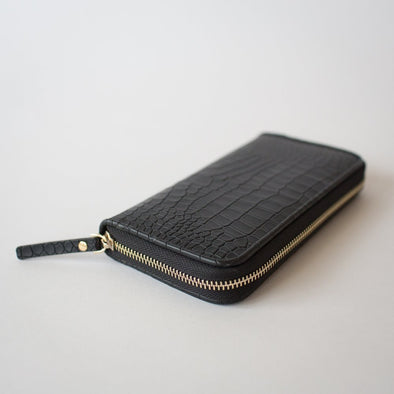 Snappy Black Wallet
