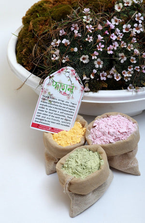 Organic herbal Holi colors
