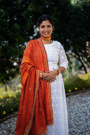 Saubhagyavati Pichoda with Lace