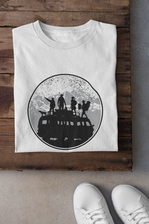 Traveling T-Shirt white