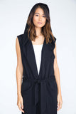 ONYX ESTELLE LONG PLUSH VEST