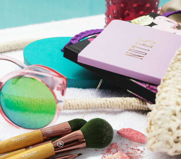 Apply Your Makeup With A Makeup Brush Instead Of A Sponge By Miracos Makeup Brushes and Barbie Ritzman