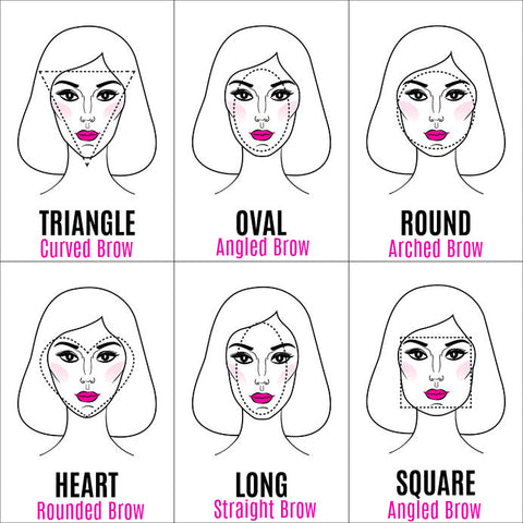 How To Choose The Best Eyebrow Based On Your Face Shape with miracos Makeup