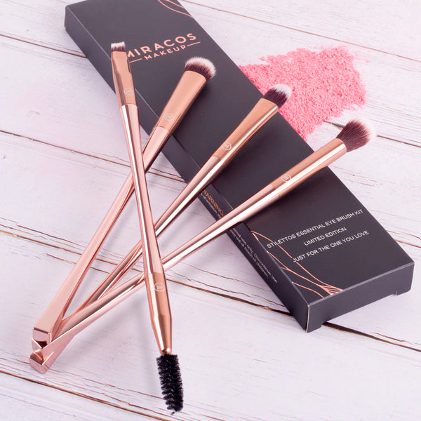 Miracos Makeup Essential Eye Brush Kit