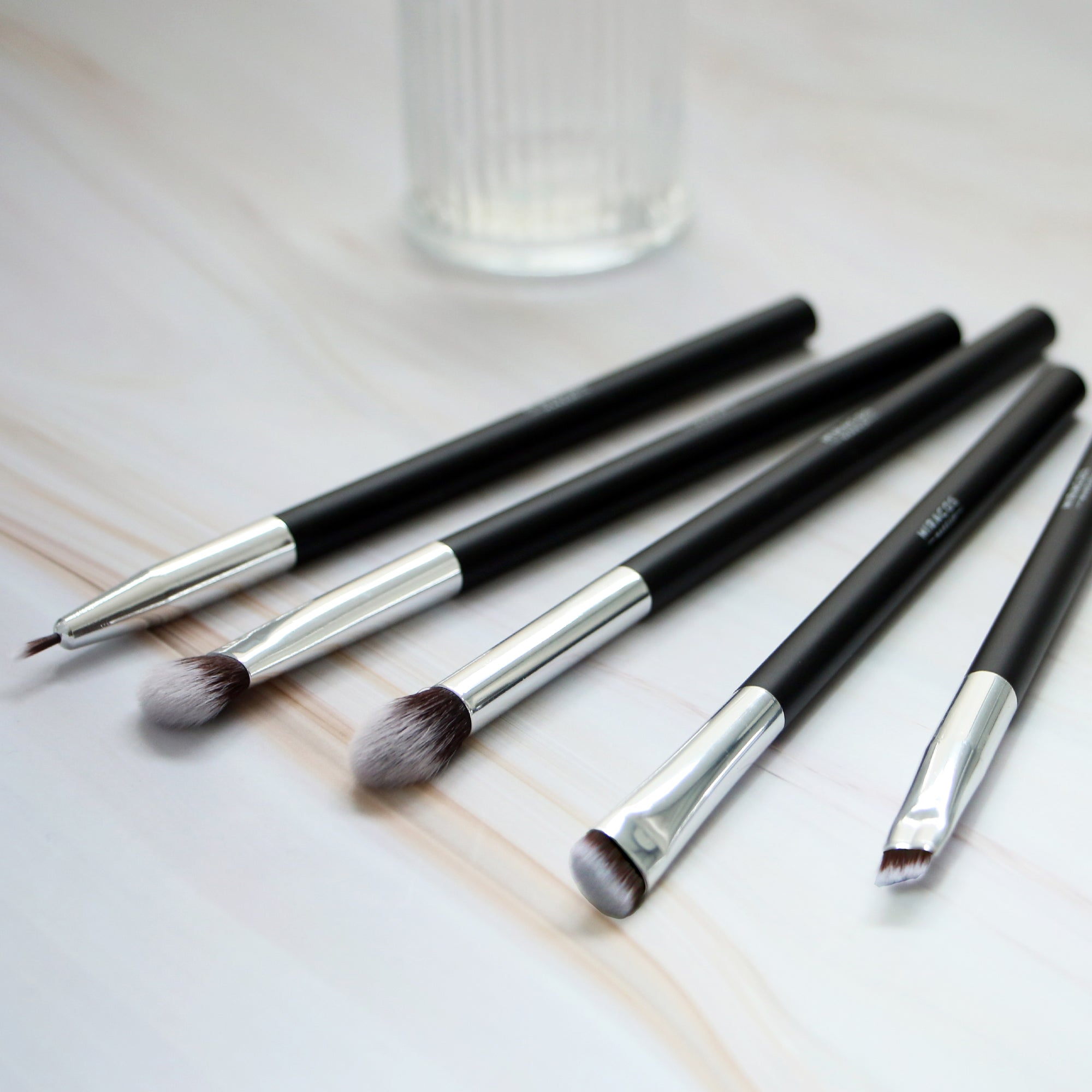 5 Piece Eye Makeup Brush Set