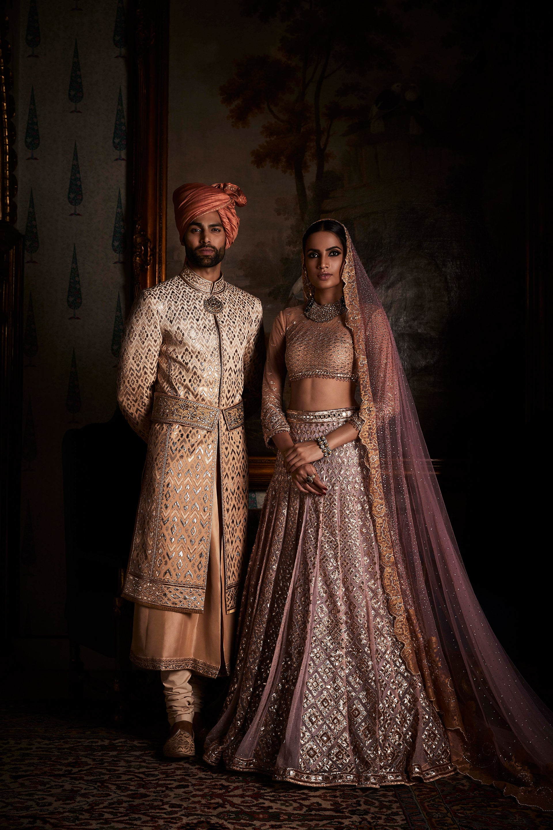 4696a94d7c The building blocks of every bridal outfit are very personal. We at TARUN  TAHILIANI bring ensembles to make each garment a whimsical dream for our  brides.