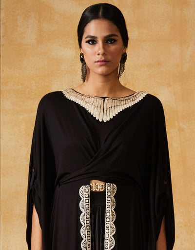 Embroidered Collar Kurta