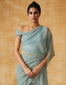 Concept Saree With Embroidered Panel