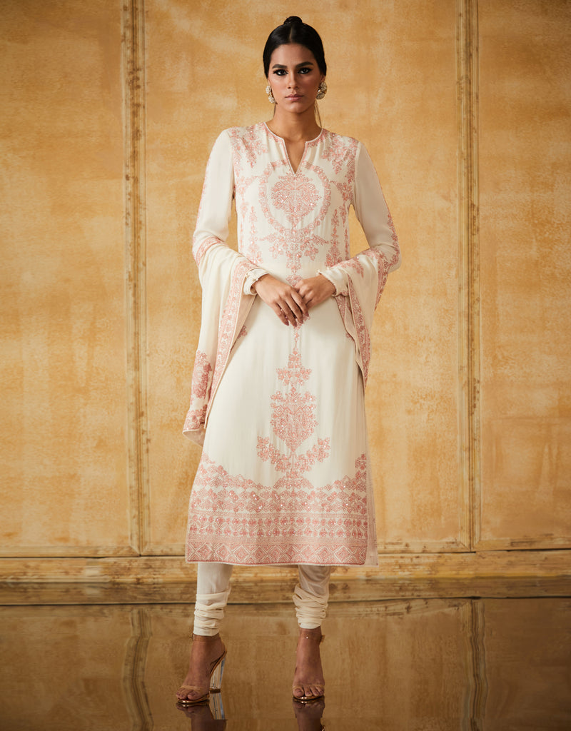 Embroidered Long Kurta