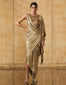 Metallic Jersey Pre-Draped Concept Saree
