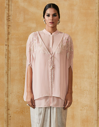Embroidered Chikankari Shirt