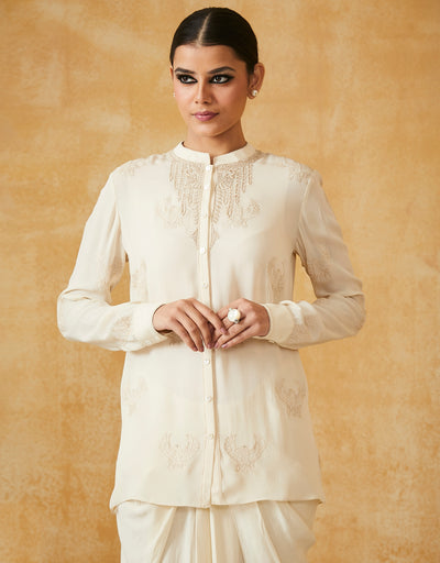 Silk Georgette Shirt