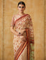 Egyptian Floral Print Sari With Blouse