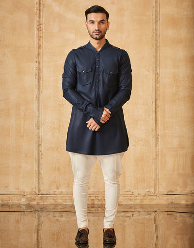 Pathani Kurta With Breeches