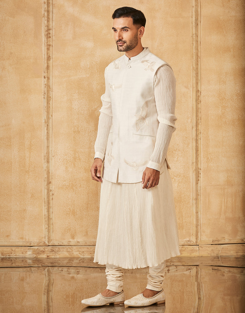Embroidered Classic Bundi