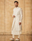 Sleeveless Sherwani With  Kurta Churidar