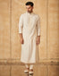 Embroidered Kurta With Tonal Churidar
