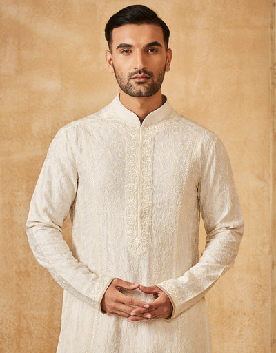 Embroidered Kurta Withchuridar