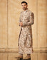 Textured Multicolored Sherwani