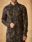 Textured Kurta With Tonal Churidar