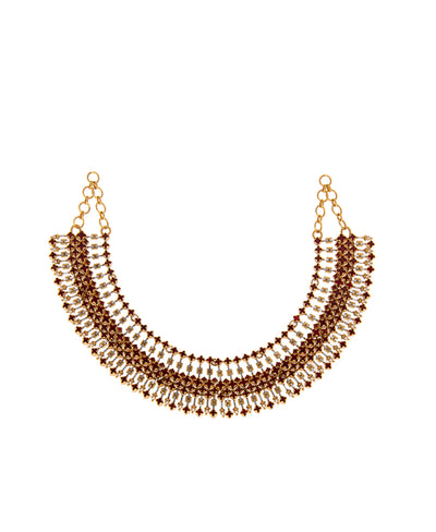 Luminescent Statement Deco Necklace