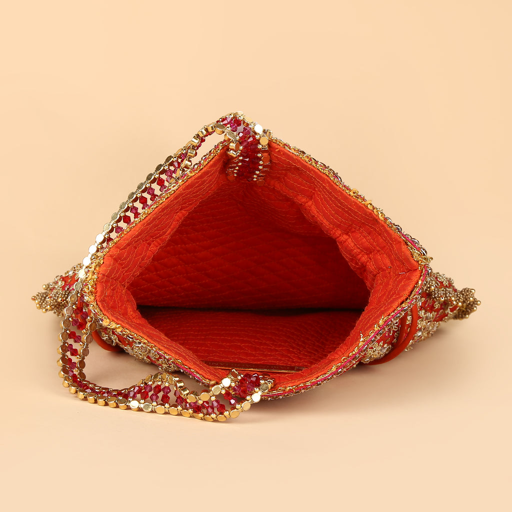 Hand Embroidered Potli