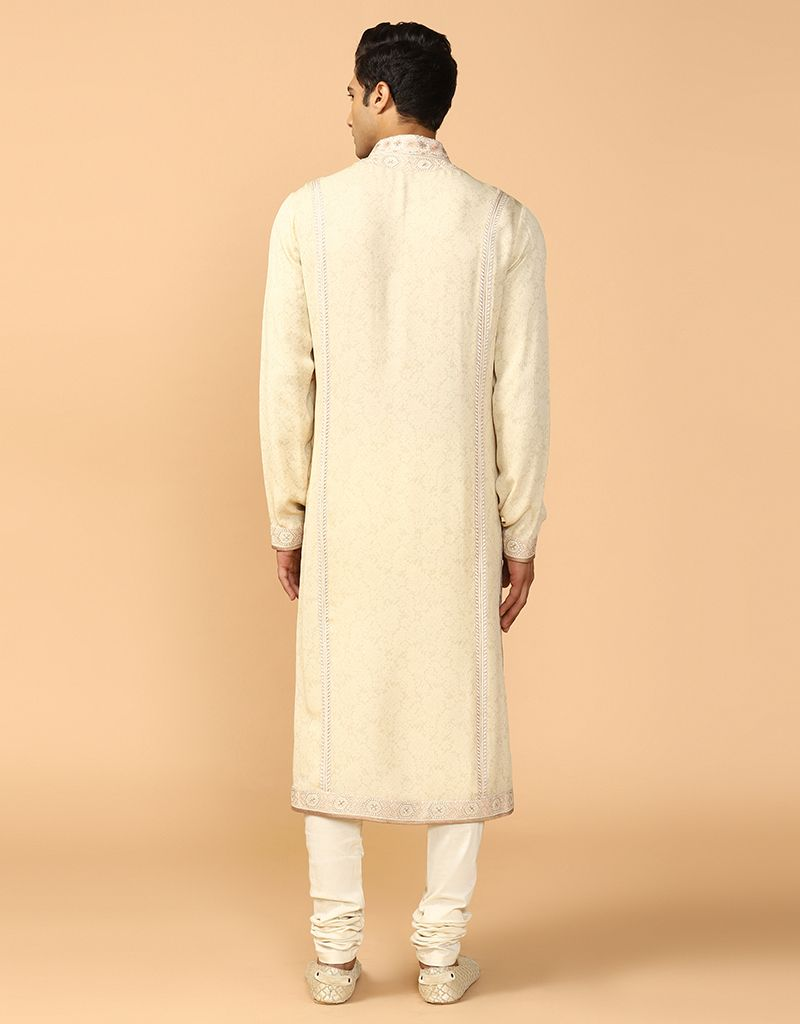 Chikankari Kurta With Churidar