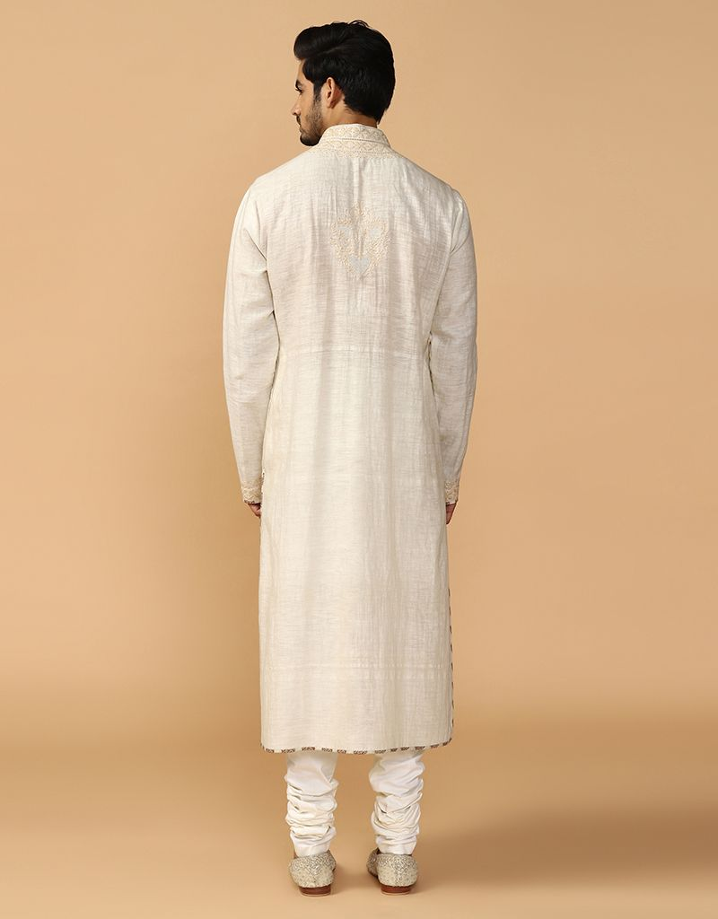 Classic Chikankari Kurta With Churidar