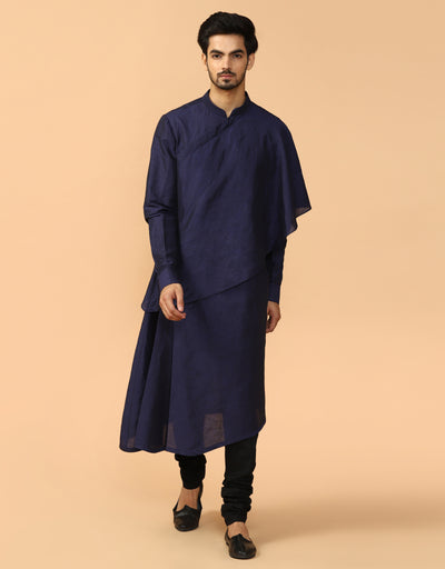 Kurta With Tonal Churidar