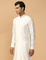 Pleated Kurta With Churidar