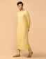Resham Work Kurta With Churidar