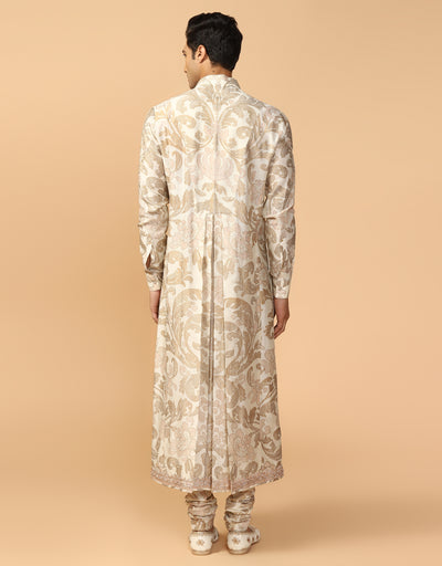 Printed Kurta & Churidar