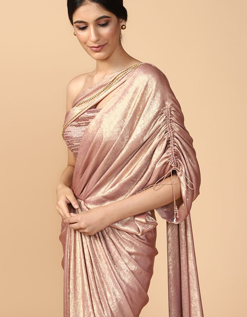 Concept Saree With Bustier