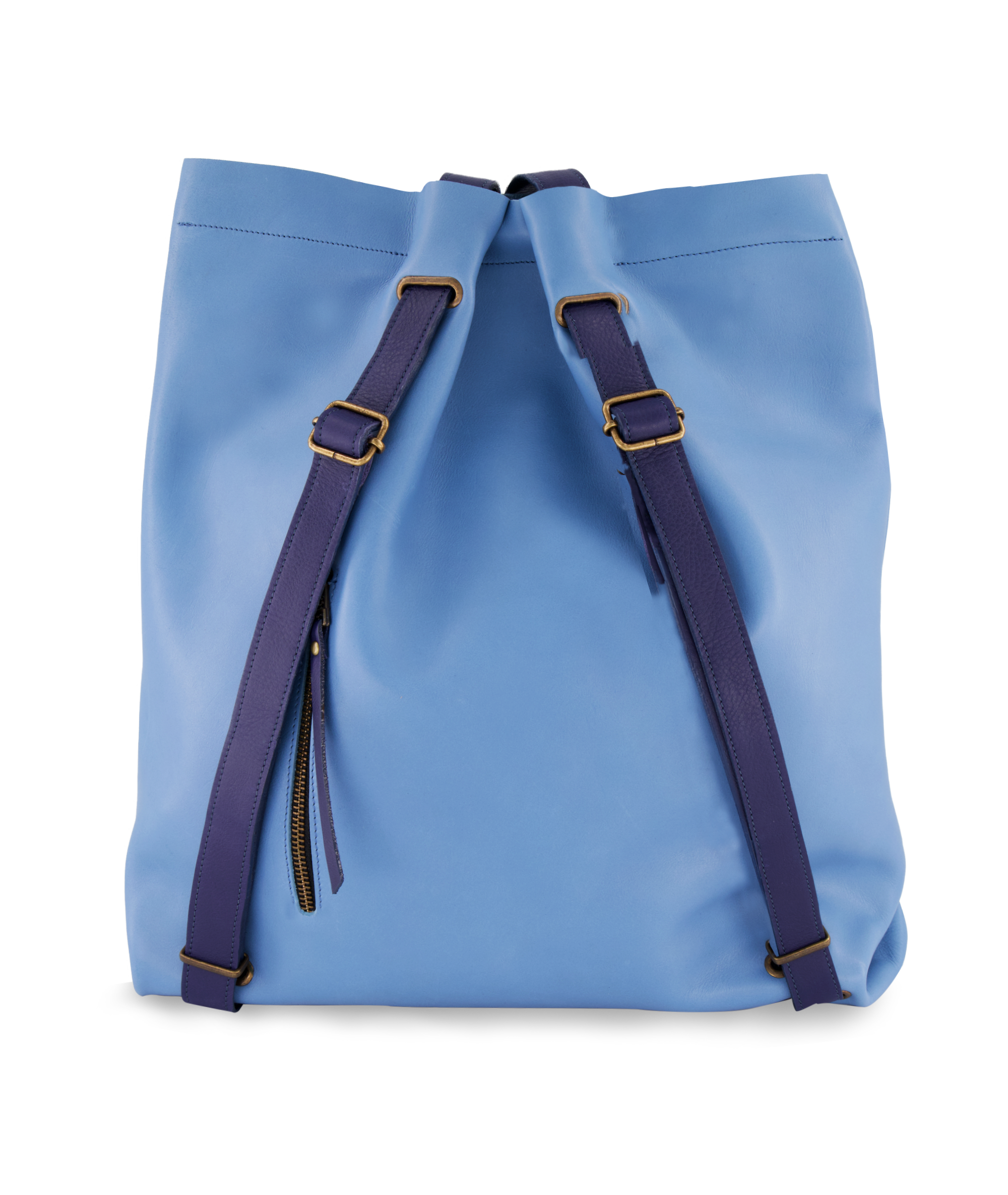 Convertible Backpack Ligth Blue and Indigo