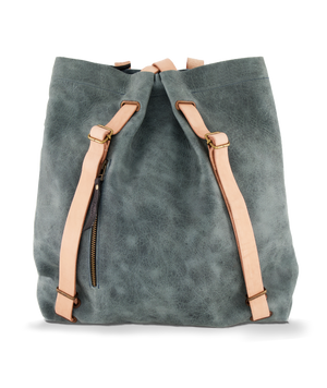 Convertible Backpack Ligth Blue Eroded and Nude