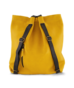 Convertible Backpack Ochre with Black