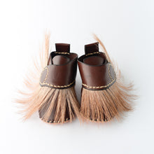 Handmade leather baby shoes. Toddler. Springbook