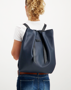Convertible Backpack Blue