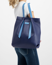 Convertible Backpack Indigo with Ligth Blue