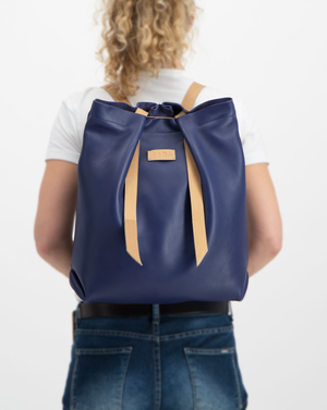 Convertible Backpack Indigo and Halzenut