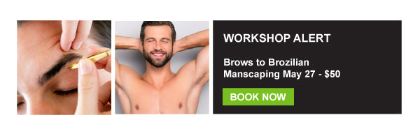 Mens Waxing Workshop Training