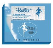 Ballet Insulated Needles K3 - Box of 50