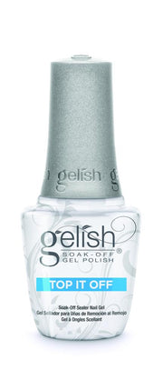 Gelish Professional Top-It-Off Sealer - Soak Off Sealer Gel