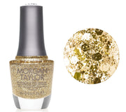 Morgan Taylor All That Glitters Is Gold - Gold Glitter
