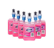 NORTHFORK Liquid Hand Wash Pink 1 Litre Low Scent & Biodegradable