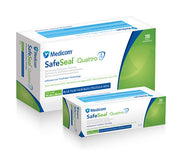 Medicom SafeSeal Quattro 4 - Box of 200
